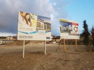 Panneaux de chantier en Akyprint