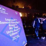 Tableaux imprimés sur toile canvas et montés sur cadres en bois pour les Red Bull Music Academy