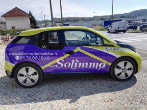 Covering de véhicule pour Solimmo