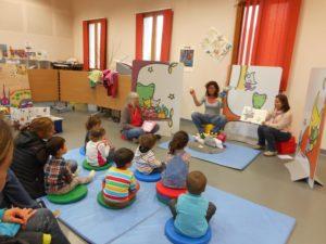 Supports pédagogiques pour un public d'enfants : Bibliothèque de Saint Jean d'Arves.