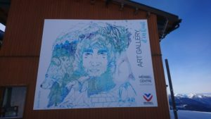 Projet Art Gallery à Méribel (73)