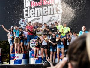 Trophées pour Red Bull Elements à Talloires (74)