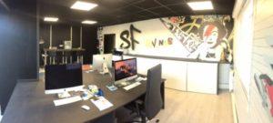Décoration murs en Forex pour SF Events