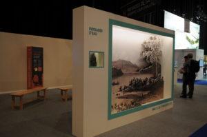 Foire de Savoie : des paysages en Forex pour le stand de la Savoie