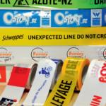Ruban de balisage imprimable pour un affichage événementiel