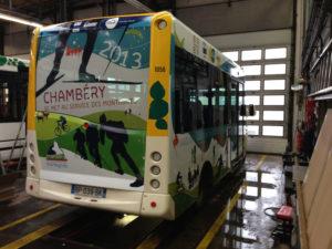 Covering de Bus de la STAC