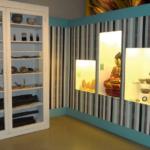 Décoration intérieure en papier peint personnalisé