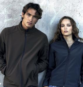 Veste softshell homme ou femme, de S à 4XL, modèles hommes & femmes