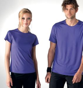 Marquage tee-shirt sport 140 g/m
