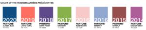 Couleur Pantone 2021 : cette année, Pantone met en avant non pas 1 couleur mais 2 ! Il n'en fallait pas moins pour oublier 2020 !