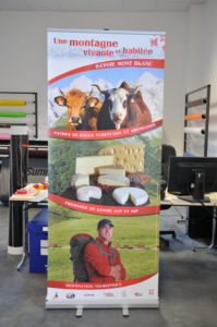 Roll up Chambre de l'agriculture de Savoie