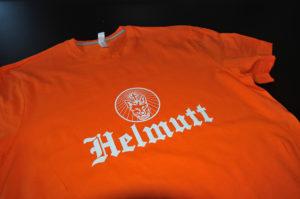 Tee-shirt Sérigraphié réalisé avec de l'encre gonflante