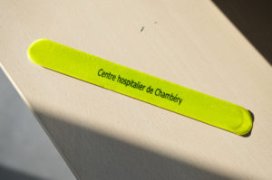 Bracelet réfléchissant Hopital de Chambéry