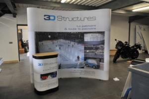 Stand Parapluie et valise/comptoir 3D Structure