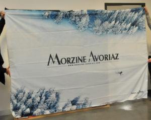 Tissu tendu Morzine