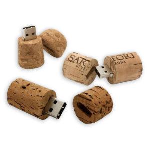 Clé USB en liège personnalisée
