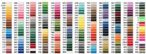 Personnalisez la couleur du fil de votre écusson