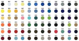 Personnalisez la couleur du fond de votre écusson