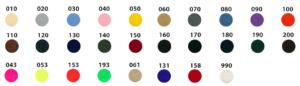 Personnalisez la couleur du velcro de votre écusson