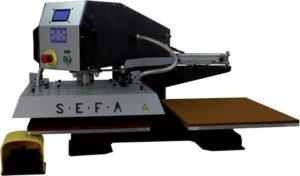 Sites SMTK | Personnalisation textile - Presse semi-automatique Sefa et presse casquettes