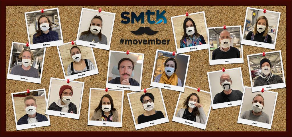 L'équipe SMTK porte la moustache